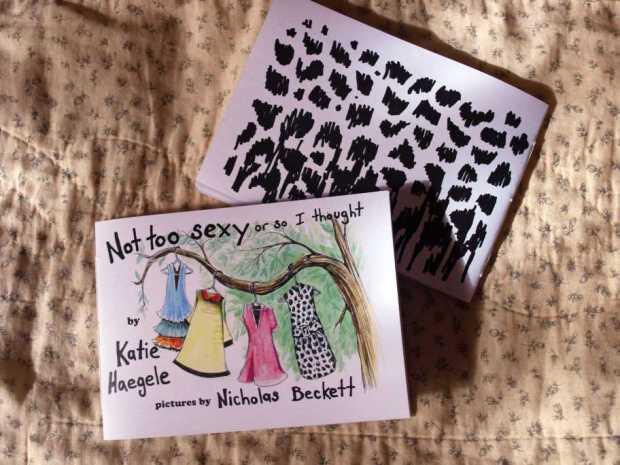 New zine with my favorite zine author Katie Haegele