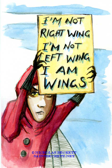 We don't have wings