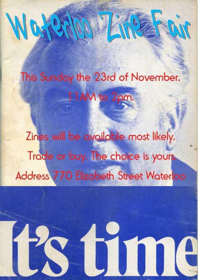 Water loo zine fair flyer  6