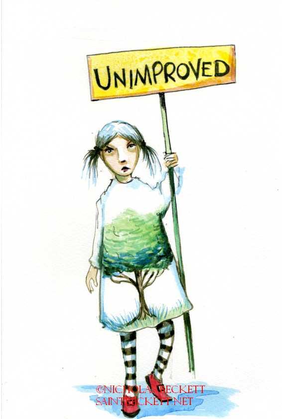 unimproved