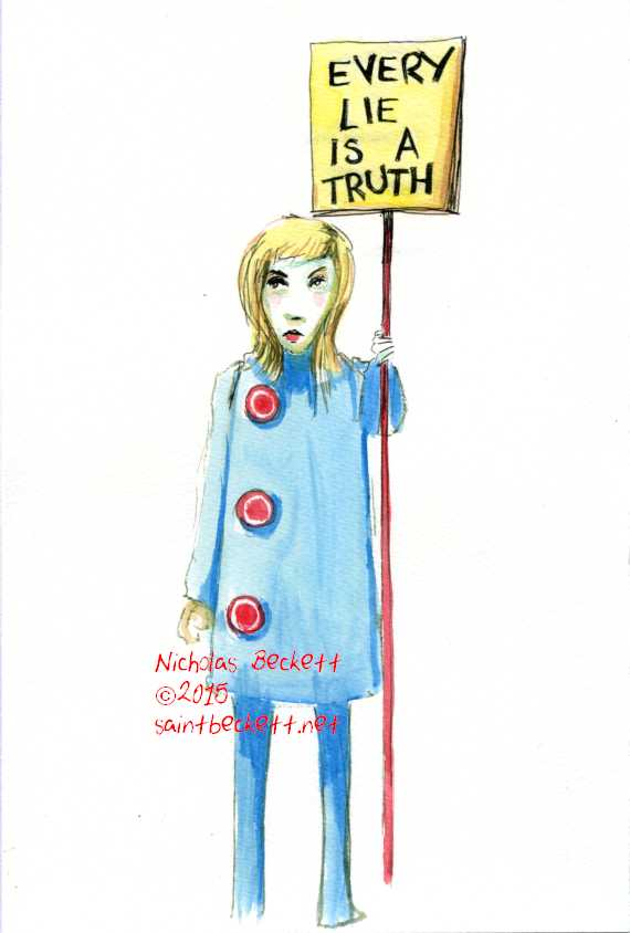 every lie is a truth