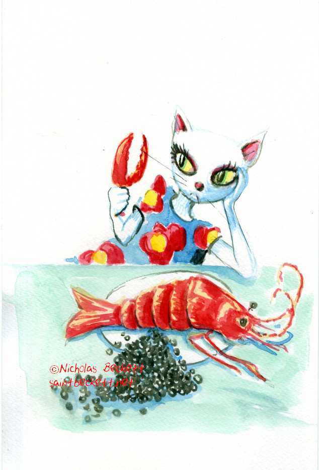 Caviar and Lobster